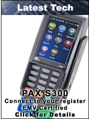 PAX S300 Integrated EMV Certified Terminal