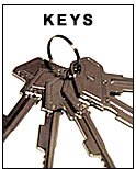 Cash Register Keys