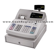 sharp xe a20s electronic cash registers at cash register store rh cashregisterstore com Sharp Electronic Cash Register Sharp Cash Register Manual