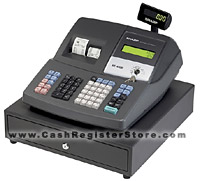 sharp xe a406 electronic cash registers at cash register store rh cashregisterstore com Sharp XE A215 Cash Register Sharp USA Cash Register